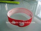 2011 new style pvc slap bracelet