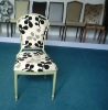 Design Hotel Room Chair in Stacking Aluminum Frame Sb1003