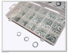 Hardware 720pc Lock, Spring & Star Washer Assortment/Kit/Set