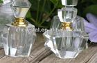 clear glass wedding crystal perfume bottle, crystal scent bottle wedding favors