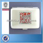 0.6MM Aluminum Material Handheld Cigarette Holders/Cases with 20 pcs Capacity RF401007