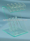 Clear Acrylic display rack ,used widely