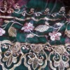 organza embroidery curtain