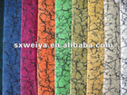 100 polyester corduroy upholstery fabric