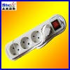 ST-PS04-2# EU standard multiple safety power socket connector plugs