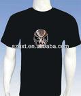 2012 Newest EL sound-active t-shirts