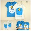 Couple's fashion hot selling short sleeve cotton T-shirts