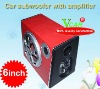 Good quality 6 inch ladder shape subwoofer power ammplifier