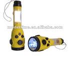 Dynamo Flashlight AM FM WB Radio with Lamp & Siren