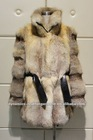 Fur coat- Natural color sand fox coat (EAO-014)