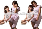 latest ladies cotton night gown pajama