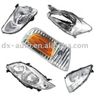 head light for auto parts