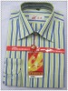 2012 latest men's formal shirt color stripe