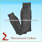 Mercerized cotton mens dress socks