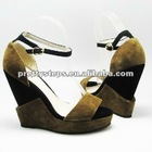 2013 Pretty Steps new design Guangzhou, sexy Lady platform pumps women wedge shoes