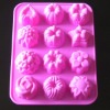 silicone chocolate mould for christmas