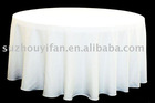 100% polyester spun table cloth