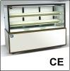 Japenese style right-angle display cake refrigerator showcase