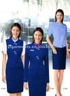 Elegant Stewardess Airline Uniform