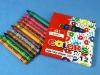 wax crayon stationery set