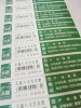 Self adhesive label paper/ hang tags/sticker/ barcode label/ labels