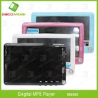 "4.3"" Touch Screen Mp5 Player Game Player Support TF Card"