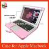 Leather Case For Apple Macbook Air 13'' inch,free shipping+wholesale,Pink color