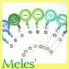 plating plastic badge reel clip holder