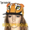 PROMOTIONAL ANIMAL PRINGTING TRUCKER HAT WITH MESH