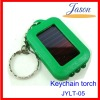 Mini solar led torch for promotional gift