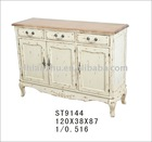 wooden furniture antique white cabinet