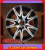Aluminium alloy wheels for cars