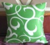 100% cotton screen printed cushion