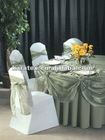 ORGANZA TABLE CLOTHS AND SASH FOR WEDDING DECORATE AND EVENT PARTY