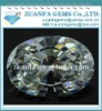 loose oval cubic zircon gemstones