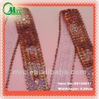 New stretch ladies sequin fabric sequin trim