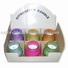 Candles with Citronella, Suitable for Garden, Available in Various Colors and Fragrance - ST901