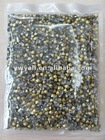 Manufacturer sales black diamond and MC ponit back chaton rhinestone