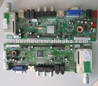 LCD tv mainboard for 15inch to 26inch with new model