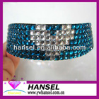 7 rows Rhinestone Hair Band HeadBand with heart shape