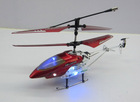 3ch IR rc mini helicopter w/LED light Indoor heli copter