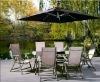 2012 new patio umbrella with waterproof aluminum hot sale garden parasol