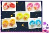 wholesale cheap shiny star shaped ponytail hair band for kids