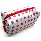 Red dot lovely cosmetic bag