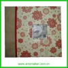 """fashion 12""""x12"""" paper cover photo album with a window in middle"""
