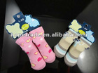Colorful and comfortable baby booties with good quality