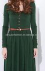 2012 Autumn vintage grace Long sleeve winter dresses