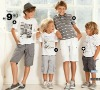 Boy's printing single jersey t-shirt