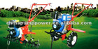 Micro Tiller powered by diesel engine