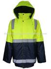 Lights Hi-Vis 2-Tone Waterproof Jacket Workwear